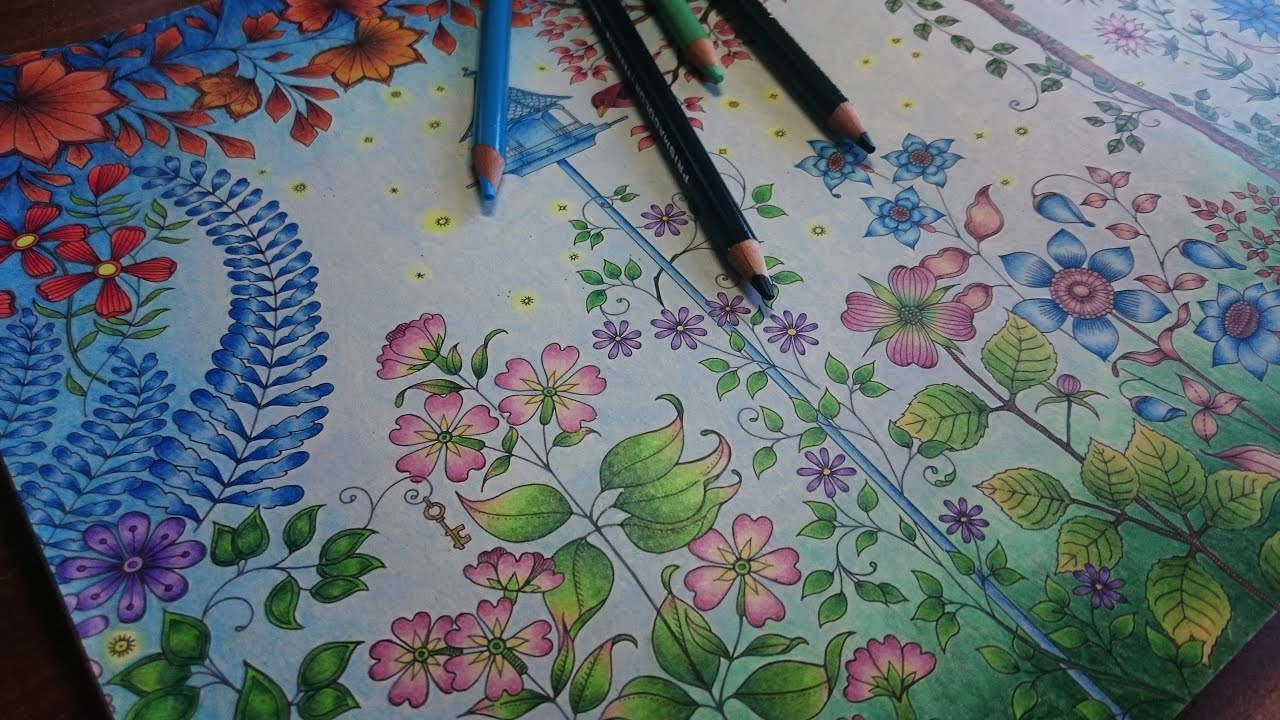 Coloring the secret garden part 3 how to color a - Watch the secret garden online free ...