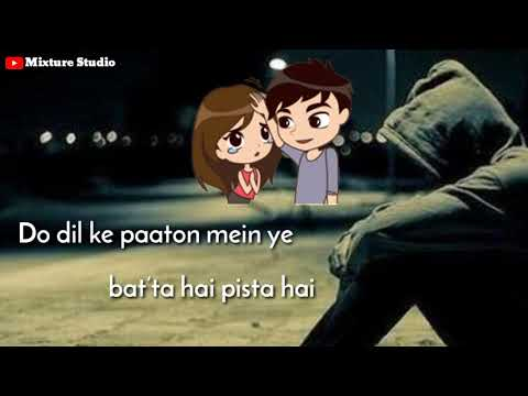 Mat ja re || Sad 😢 || Whatsapp status || Lyrics video || Ankit Tiwari
