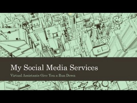 Walter Davis Social Media Services Overview