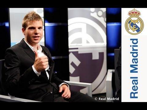 Primera entrevista a Illarramendi como jugador del Real Madrid
