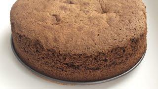 Простой рецепт шоколадного бисквита, всегда пышный