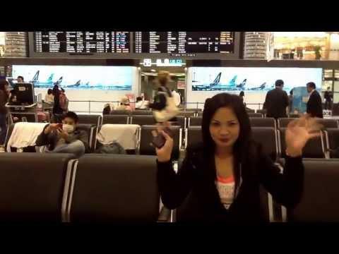 Departure Section of NARITA INTERNATIONAL AIRPORT.