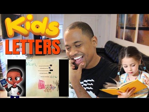 Reading Hilarious Letters from Kids | Funniest TOP 12 Notes
