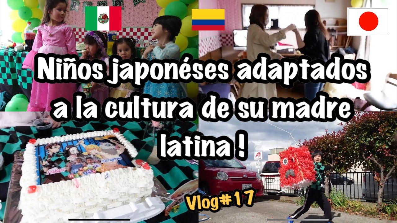 Niños Japoneses adaptados a la cultura de su madre latina !