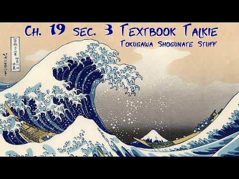 Ch. 19 sec. 3 Textbook Talkie: Japan