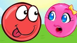 Новый КРАСНЫЙ ШАР, Красныш и Соня, мультик игра, Детский летсплей #85
