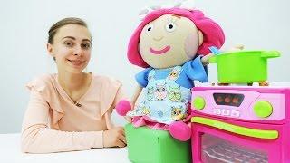 Шьем фартук для куклы Смарты. Видео для девочек