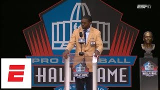 [FULL] Randy Moss Hall of Fame speech | 2018 Pro Football Hall of Fame | ESPN