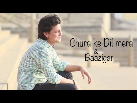 BAAZIGAR reprised version | Chura ke Dil Mera | Unplugged Cover | Ekansh mehta 2017
