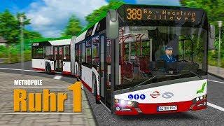 OMSI 2: Metropole Ruhr #1: Mit dem SOLARIS URBINO 18 IV durch das Ruhrgebiet!   BUS-SIMULATOR