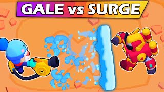 SURGE vs GALE | The best Chromatic | 1vs1 | Brawl Stars