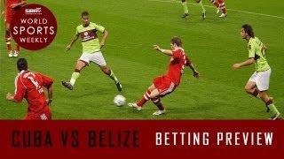 CUBA vs BELIZE Group C | CONCACAF Gold Cup 2013