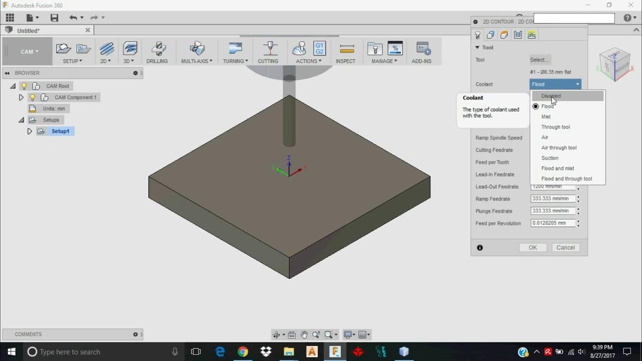 Fusion 360 CAD CAM Tutorial MillRight CNC