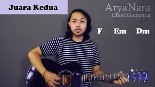 Download lagu Chord Gampang (Juara Kedua - Fiersa Besari) by Arya Nara (Tutorial Gitar) Untuk Pemula