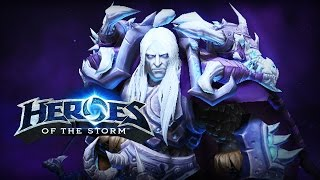 ♥ Heroes of the Storm (Gameplay) -  Arthas, The Good D (HoTs Quick Match)