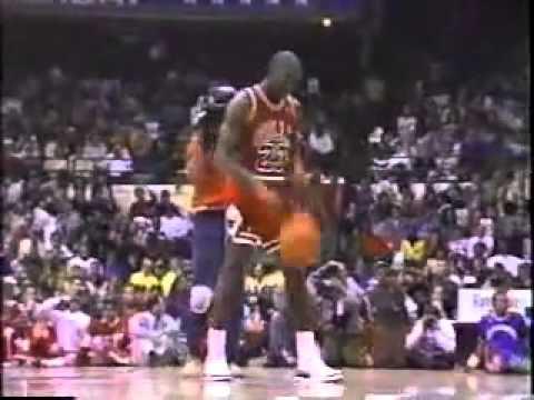 1988 NBA Slam Dunk Contest Michael Jordan