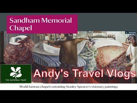 Andy's National Trust Travel Blogs: Sandham Memorial Chapel