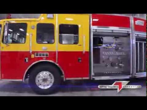Toyne HME Pumper, Peters Township, PA - Walkaround Video