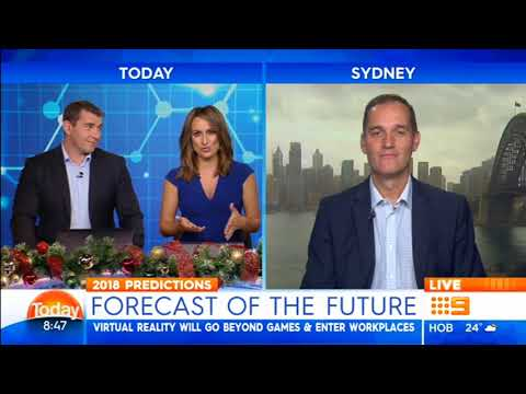 Futurist Ross Dawson on Today Show: What to expect in the year ahead