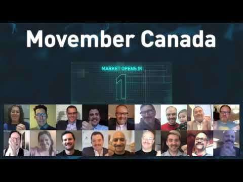 加拿大Movember实际上打开了市场
