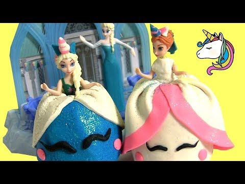 4 Hair Snap Clips ~  Disney Frozen Princess Minnie My Little Pony LOL Surprise