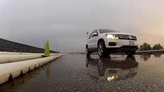 Rallye Style-Onboard SUV Offroad Tire Test VW Tiguan Uvalde Proving Grounds Texas