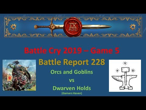 The 9th Age Battle Report 228