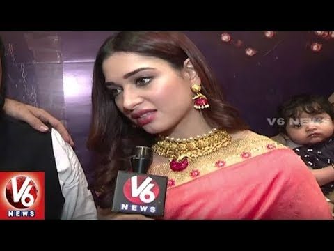 Tamannaah Bhatia Face To Face Interview | Festival Special Collection Launching Event | V6 News