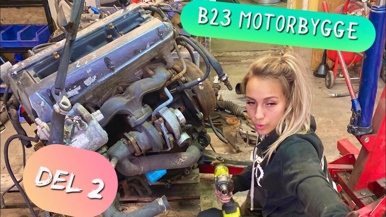 BYGGA SAAB MOTOR DEL 2 - DRIFTING E30 PROJEKT