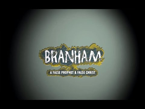 BRANHAM – A false prophet and false Christian. Latest war film from Telugu