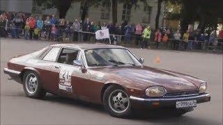 Jaguar XJS, авторалли на классических ретро автомобилях