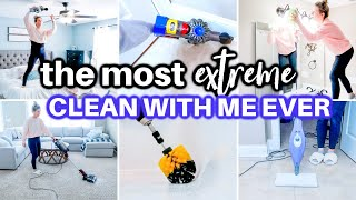 *EXTREME* ULTIMATE CLEAN WITH ME 2021 | ALL DAY SPEED CLEANING MOTIVATION | CLEANING ROUTINE