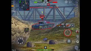 WoT Blitz Game Play - KV-4