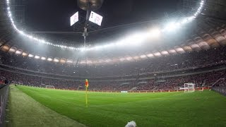 Polska Niemcy 2:0 Mecz El. ME (2016) 11.10.2014
