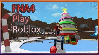 Roblox   Snowman Simulator and more   With the FNA4