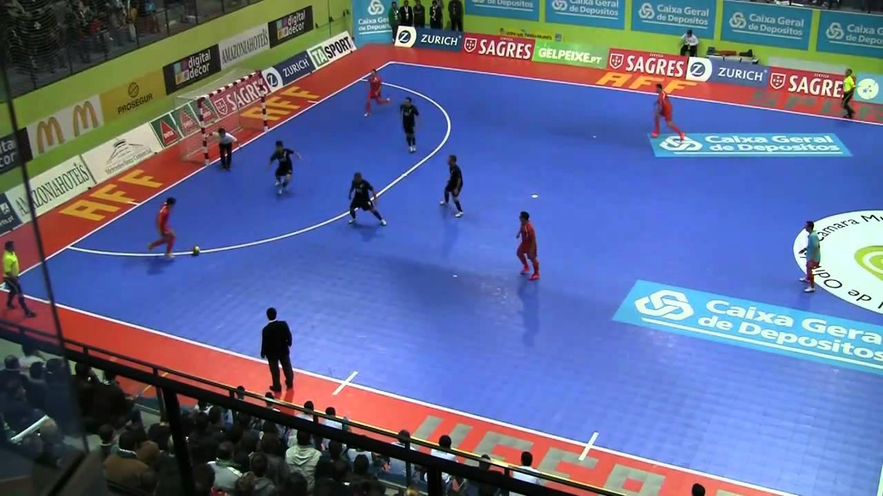 Futsal :: Uefa Ronda Elite - 2Jogo :: Sporting - 4 x Târgu Mures (Roménia) - 1 de 2010/2011