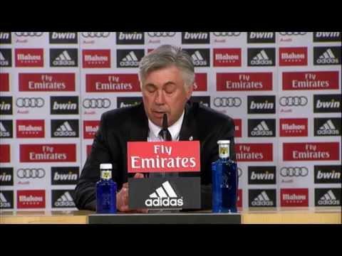 "Carlo Ancelotti: ""Kämpfen um drei Titel"" | Real Madrid - UD Almeria 4:0"