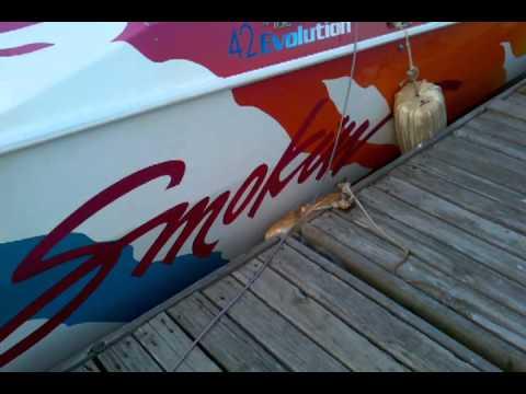 cigarette boat 3,200 horsepower 600rpm roll