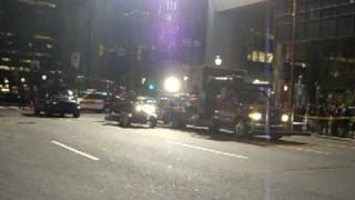 Law Abiding Citizen - Filming of Chase Scene