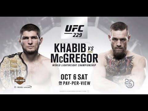 Transmissão Ao Vivo UFC 229