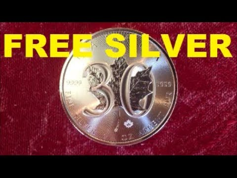 30,000TH SUBSCRIBER FREE  SILVER GIVEAWAY