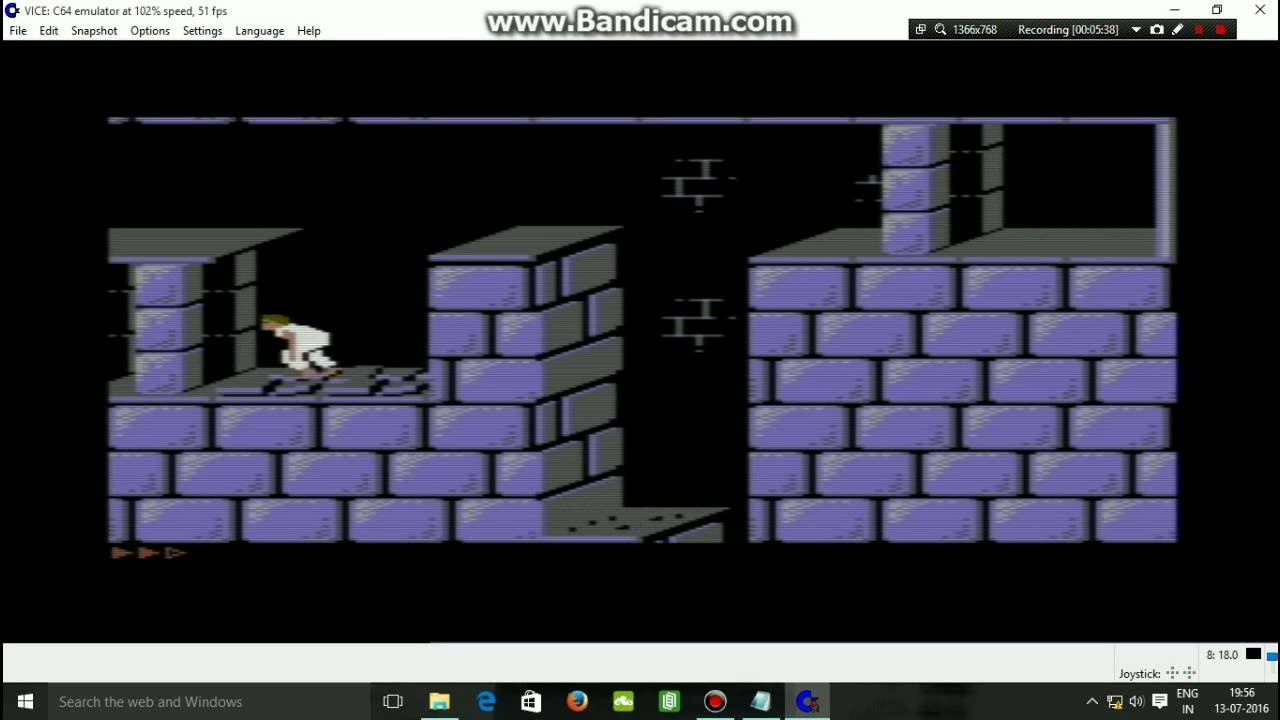 How To Run Prince of Persia C64 Easy with Vice Emulator