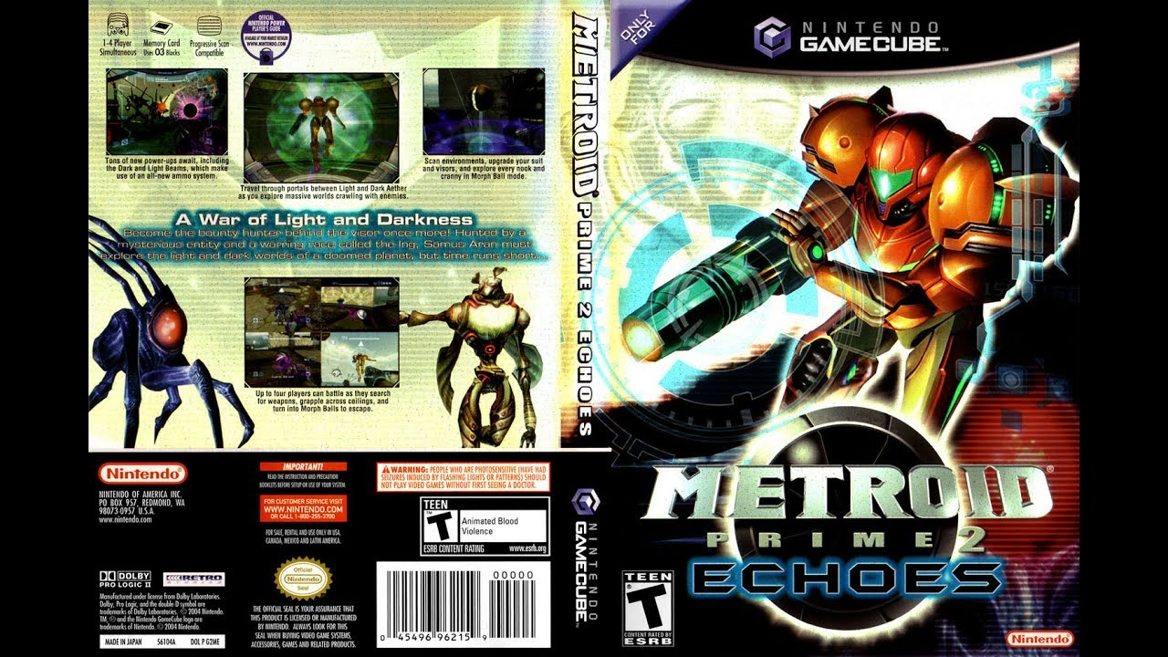 Metroid Prime 2 Echoes For Gamecube On Dolphin Emulator