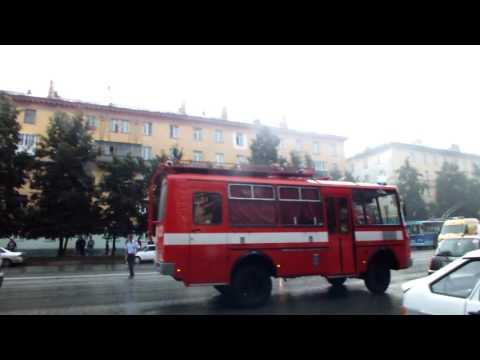Пожар в общежитии на ул. Богдана Хмельницкого (Новосибирск)
