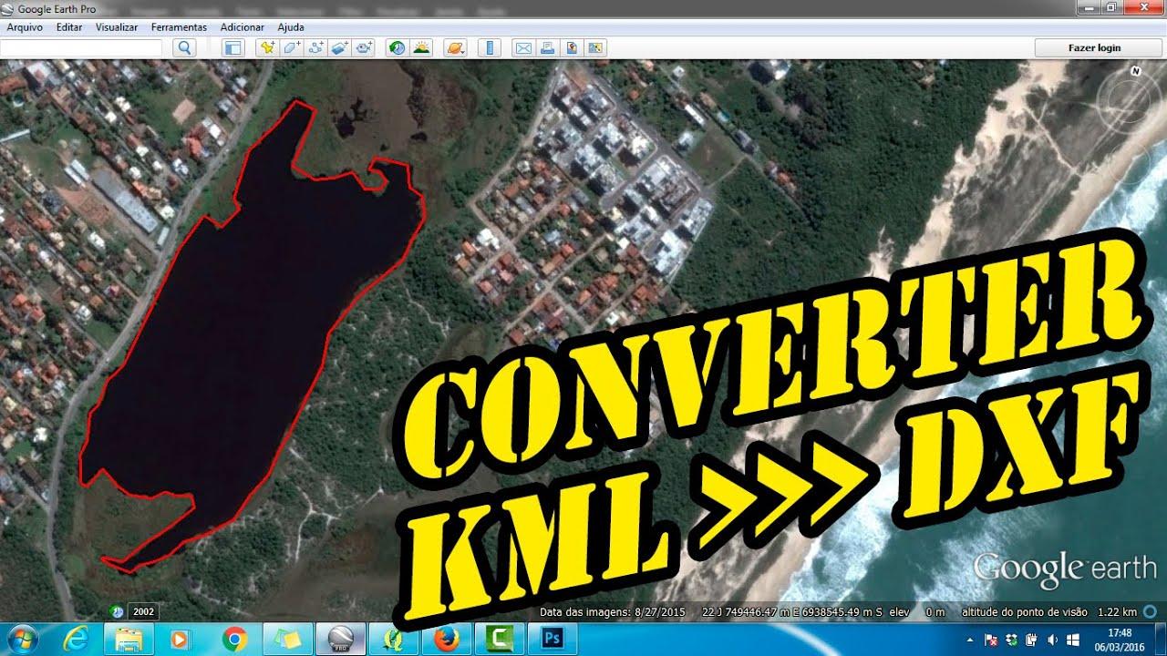 Espig Projetando - QGIS - Como Converter KML em DXF