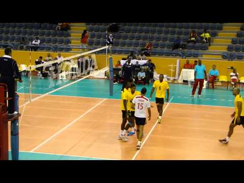 Tunisia v Mauritius in Pool B of Men's African Nations Championship
