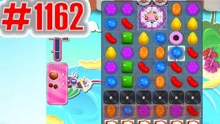 Candy Crush Saga Level 1162, NEW! Complete!