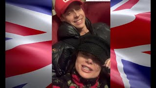 Наташа Королева и Тарзан в Англии (11.2019) эксклюзив !!! @koroleva_star