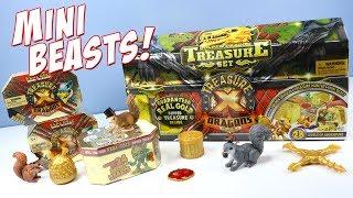 Treasure X Series 2 Golden Dragon Treasure Set with Mini Beasts Moose