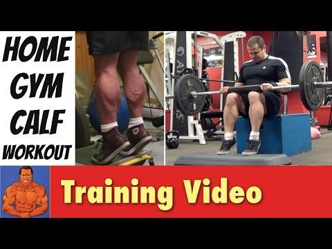 Home Gym Calf Exercises
